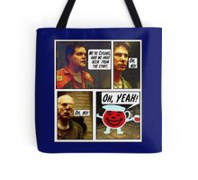 SPOILER ALERT!! Here there be Cylons! Tote Bag