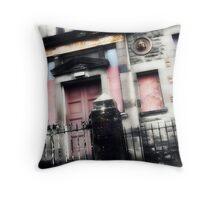 Old Public School - Port Glasgow, Scotland Throw Pillow