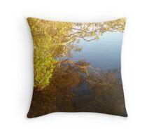 Mangrove Reflection Throw Pillow