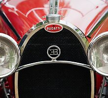 Red Bugatti Grille by Flo Smith