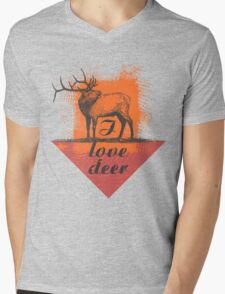 I love deer! Mens V-Neck T-Shirt