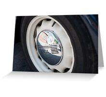 Lancia Aprilia Wheel Greeting Card