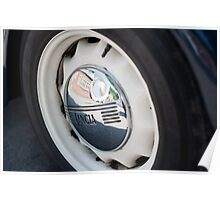 Lancia Aprilia Wheel Poster