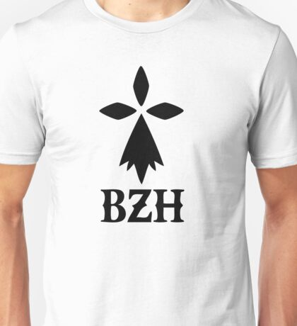 bzh breizh breton bretagne Unisex T-Shirt