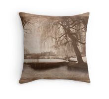 Leeds Castle Throw Pillow