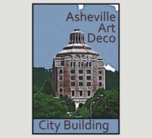Asheville Art Deco - City Building by David Thompson