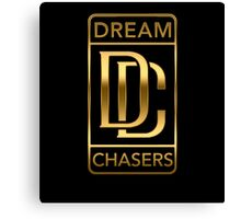 Dream Chasers Gold Canvas Print