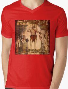 Tarzan says 99 Mens V-Neck T-Shirt