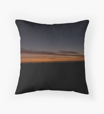A Lancelin Sunset Throw Pillow