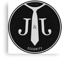 WWE J&J Security Canvas Print