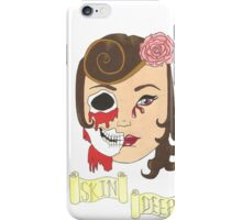 Beauty is Only Skin Deep iPhone Case/Skin