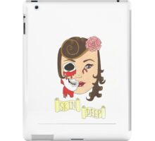 Beauty is Only Skin Deep iPad Case/Skin