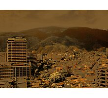 Troubled City Photographic Print