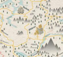 Skyrim Map Sticker