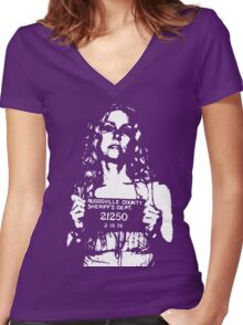 Baby  Women's Fitted V-Neck T-Shirt