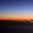 Planes landing at Nice Airport by Siddhesh Rishi