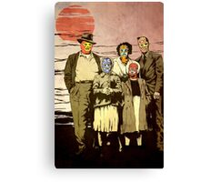 ''Luchadores Have Families Too'' Canvas Print
