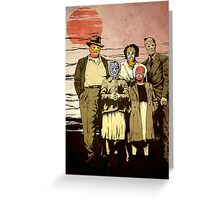 ''Luchadores Have Families Too'' Greeting Card