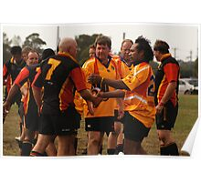 Masters Games - Rugby Union 2009 Poster