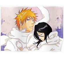 Bleach: Ichigo X Rukia Poster