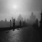 Prague Charles IV Bridge by dunxs