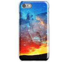 Cosmic Sunset iPhone Case/Skin