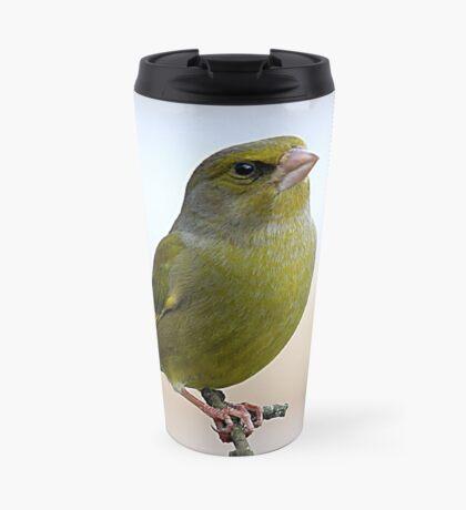 Greenfinch -  Carduelis chloris Travel Mug