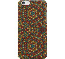 mosaic of colored patches iPhone Case/Skin