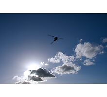 Silhouetted Flight Photographic Print