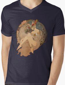 Nouveau Mens V-Neck T-Shirt