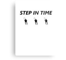 Step In Time Metal Print