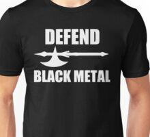 Defend Black Metal Unisex T-Shirt