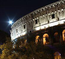 Colosseum in the night by Antonello Mariani