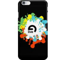 Ableton Live Splatter Logo iPhone Case/Skin