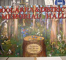 Boolarra Memorial Hall Mural by Andrew Shinn