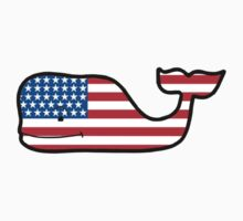 USA Whale by Johnny James