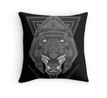 Warfeline! BW Throw Pillow