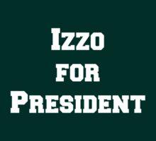 Izzo for President by jdbruegger