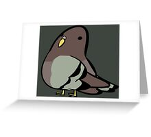 Pigeon Greeting Card