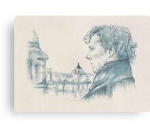A Study In Blue - Sherlock Metal Print