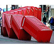 The Domino Effect - Out of Order !!!! Photographic Print