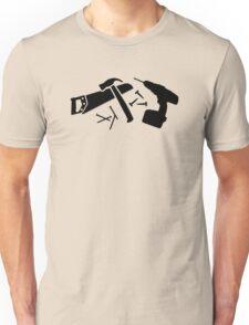 Screwdriver hammer nails saw Unisex T-Shirt