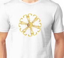 Golden Wheel Unisex T-Shirt