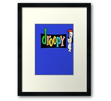 Droopy Framed Print