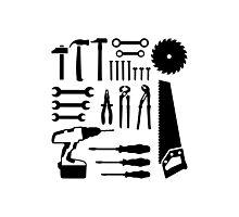 Tools set Photographic Print