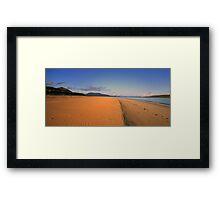 Luskentyre  Beach Framed Print