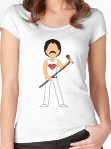 Pixel Freddie Women's Fitted Scoop T-Shirt