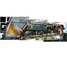 Cut Away Steam Engine (Photos x3) Photographic Print