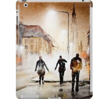 Britain's cold night in warm colors. iPad Case/Skin
