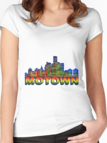 MOTOWN Women's Fitted Scoop T-Shirt